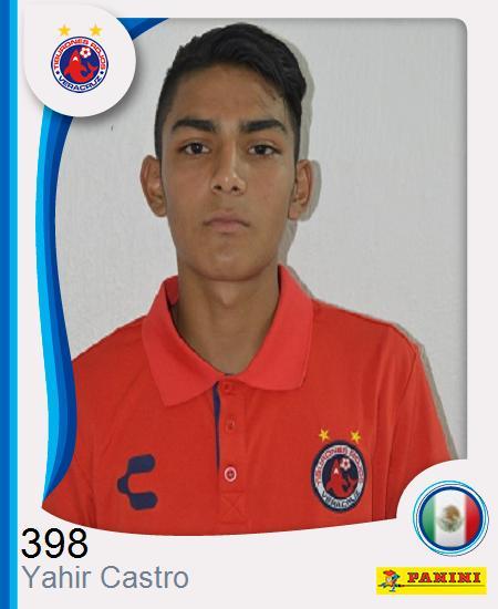Yahir Francisco Castro Domínguez