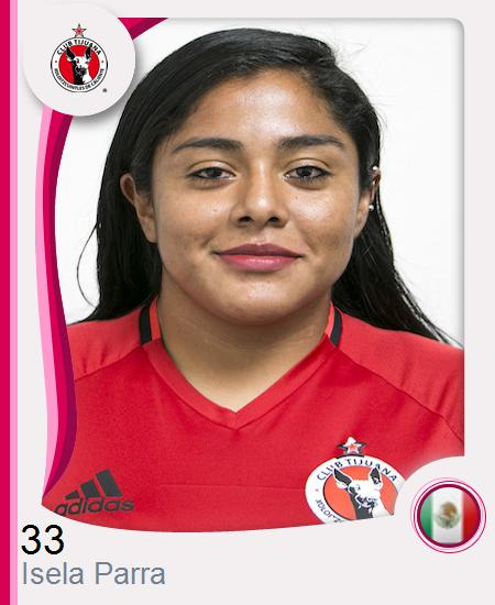 Isela Abigail Parra Cruz