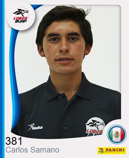 Carlos Enrique Samano Aguilar