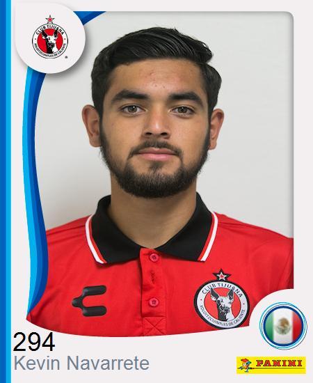 Kevin Ronaldo Navarrete Carrillo