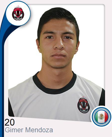 Gimer Ricardo Mendoza Gutiérrez