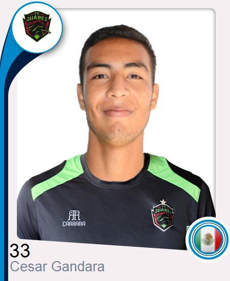 César Ronaldo Gandara Jiménez