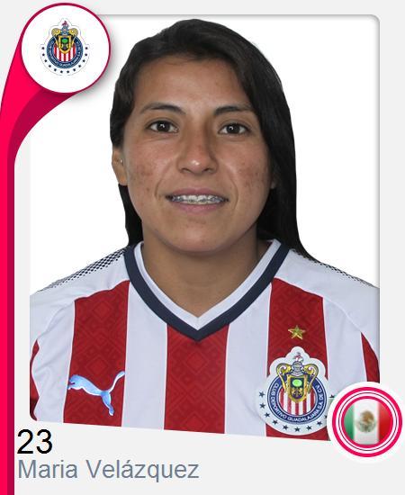 Maria Guadalupe Velázquez Cortéz