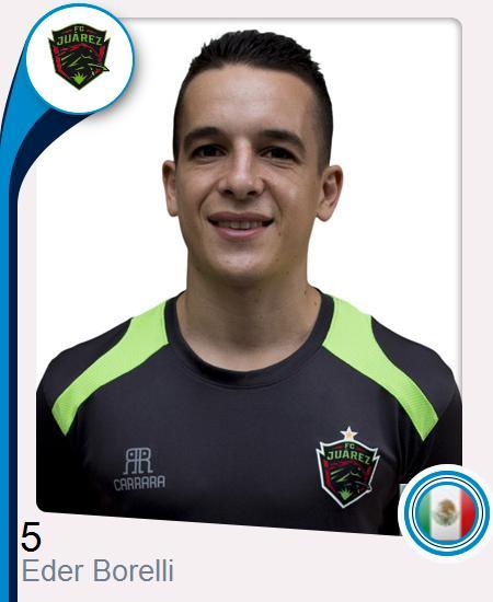 Eder Nicolás Borelli Cap
