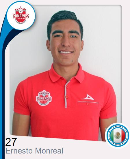 Ernesto Alejandro Monreal De la Cruz