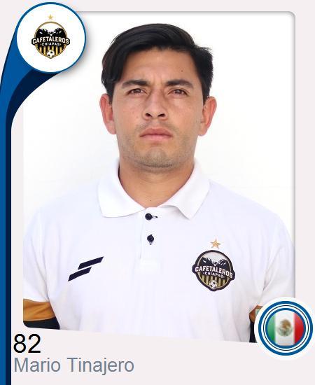 Mario Alberto Tinajero Díaz