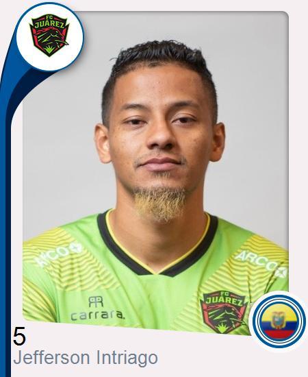 Jefferson Alfredo Intriago Mendoza