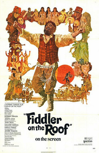 Tinseltown meets the great white way classic musicals that thrived fiddler on the roof 1971 theatrical poster click to enlarge fandeluxe Image collections