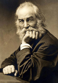walt whitman among the multitude