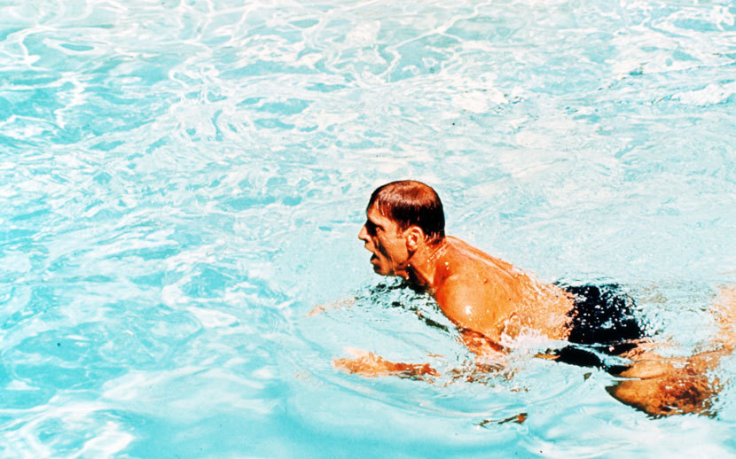 essay the swimmer john cheever