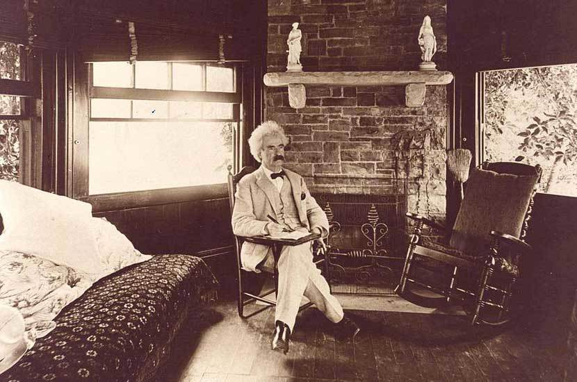 "Rudyard Kipling, ""An Interview with Mark Twain"" 