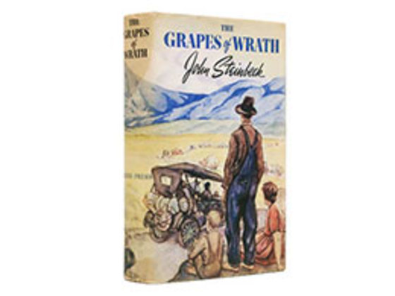 the struggle of the joad family in the grapes of wrath by john steinbeck