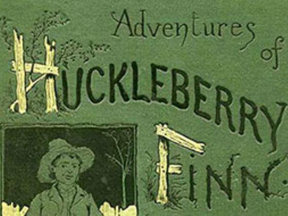 tone of huckleberry finn
