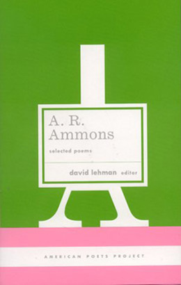 A  R  Ammons: Selected Poems | Library of America