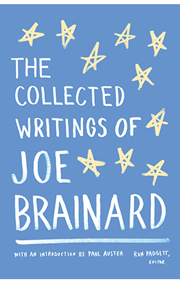 The Collected Writings of Joe Brainard (paperback)    Library of America