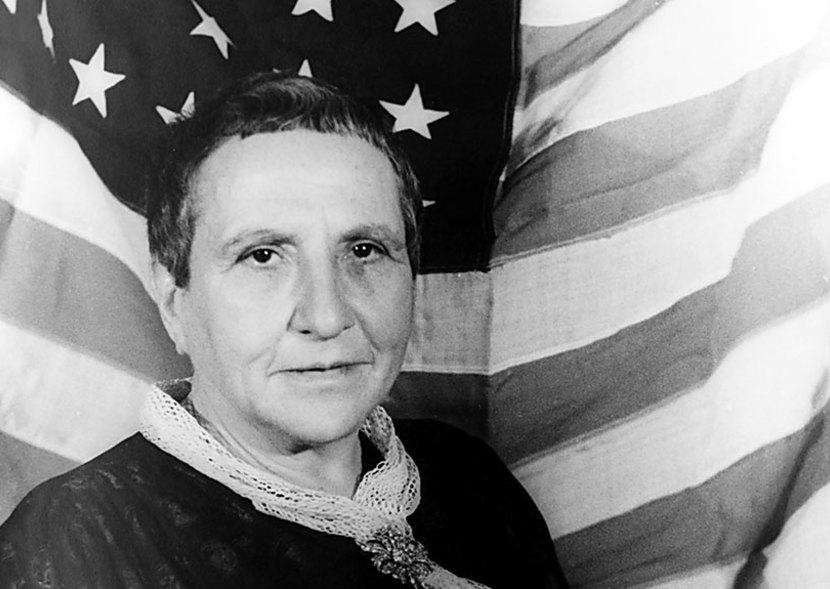 Gertrude Stein america is my country