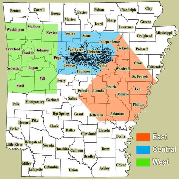 475 Acres In Searcy County Arkansas