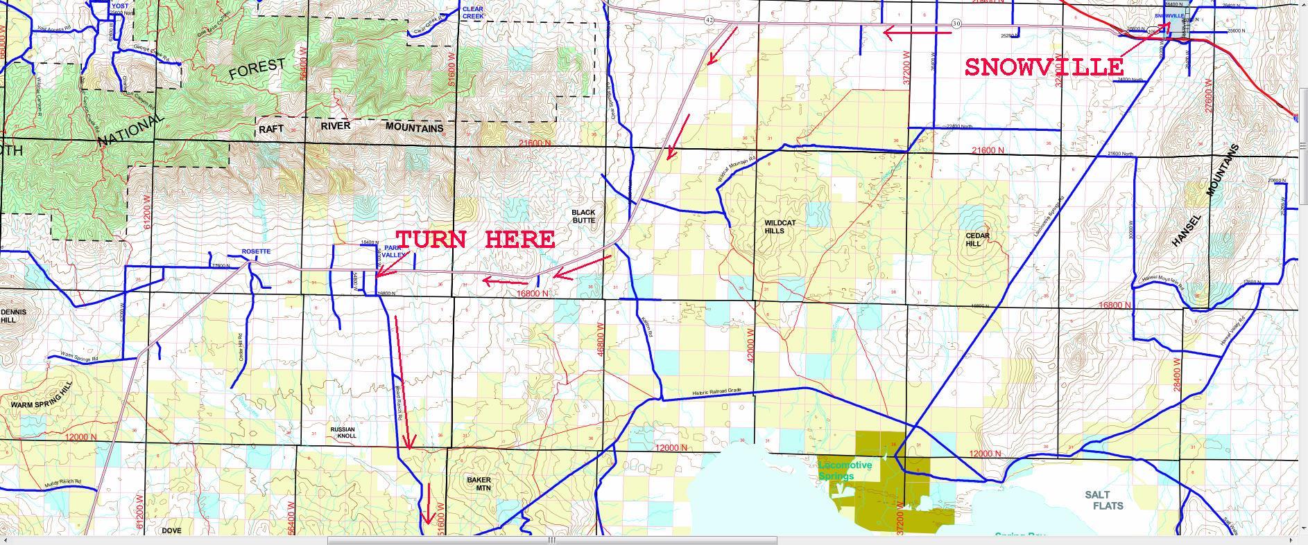 Box Elder County Property Map