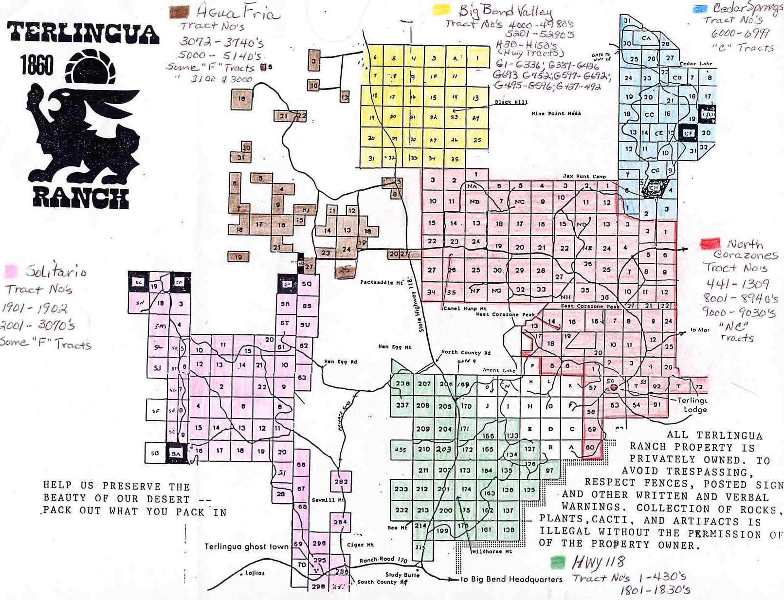 Brewster County Property Maps