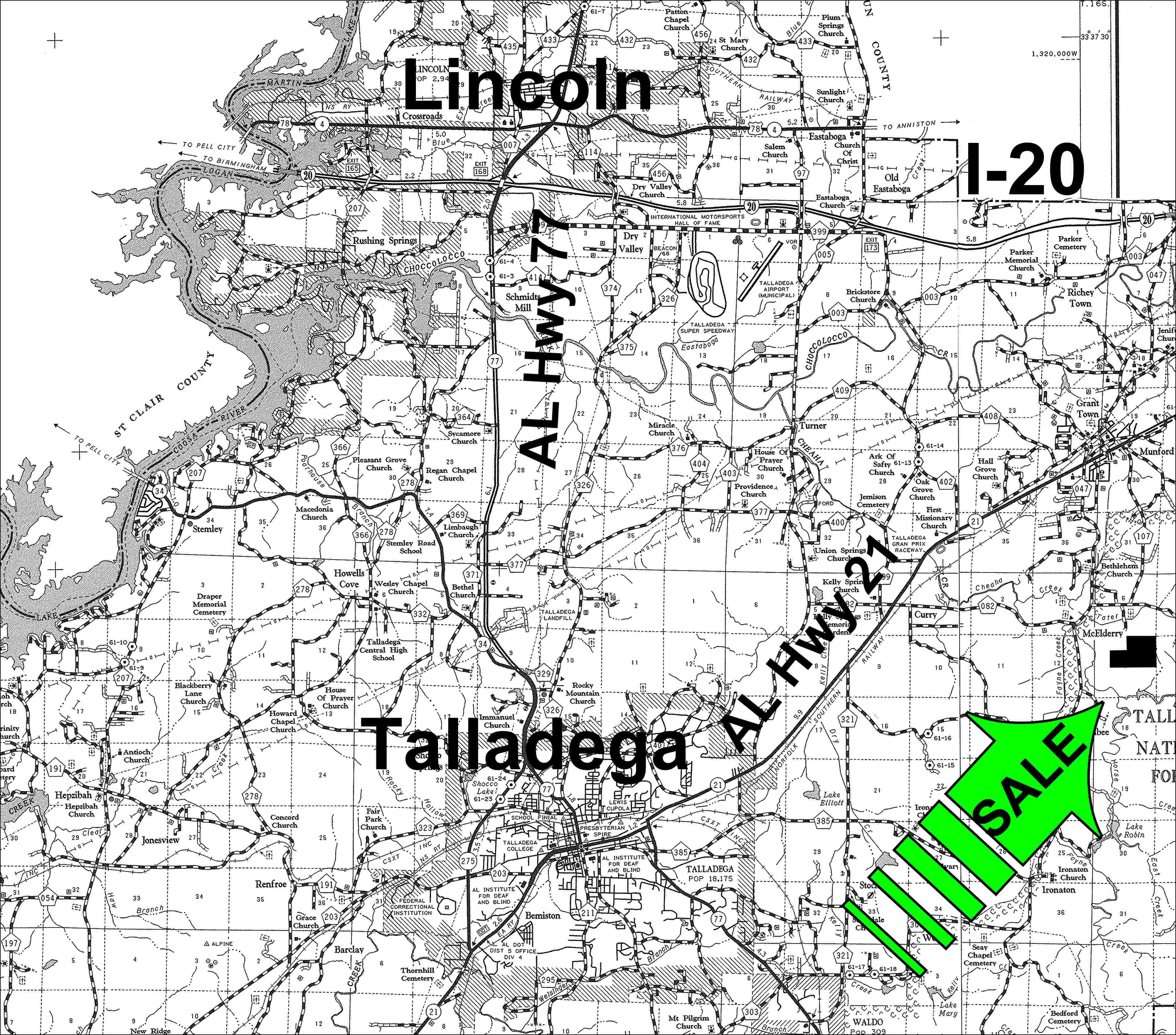 talladega county Talladega county was created by an act of the alabama general assembly on 18 dec 1832, from land ceded by the creek indians it is located near the geographic center of the state, in the.