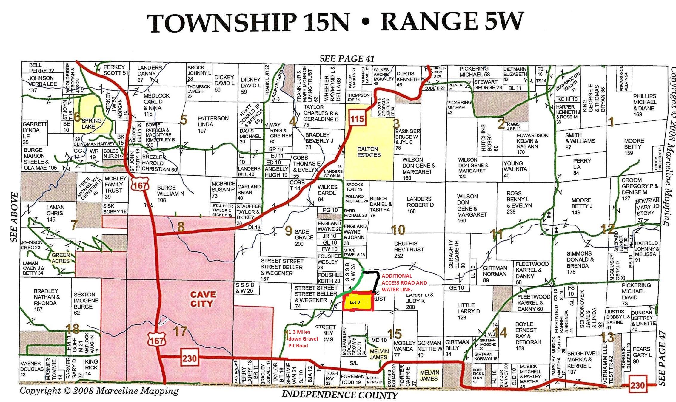 Acres In Sharp County Arkansas - Arkansas land ownership maps