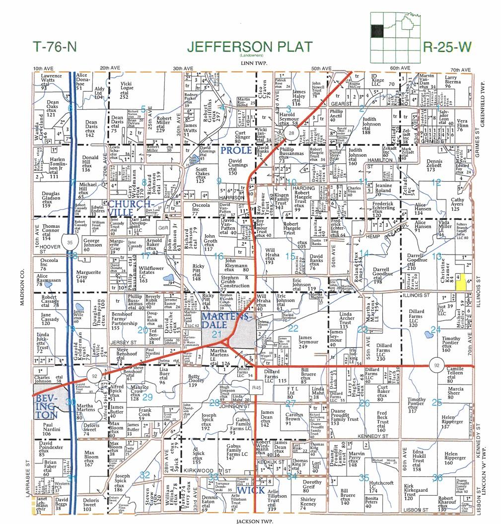 Warren County Iowa Map.16 28 Acres In Warren County Iowa
