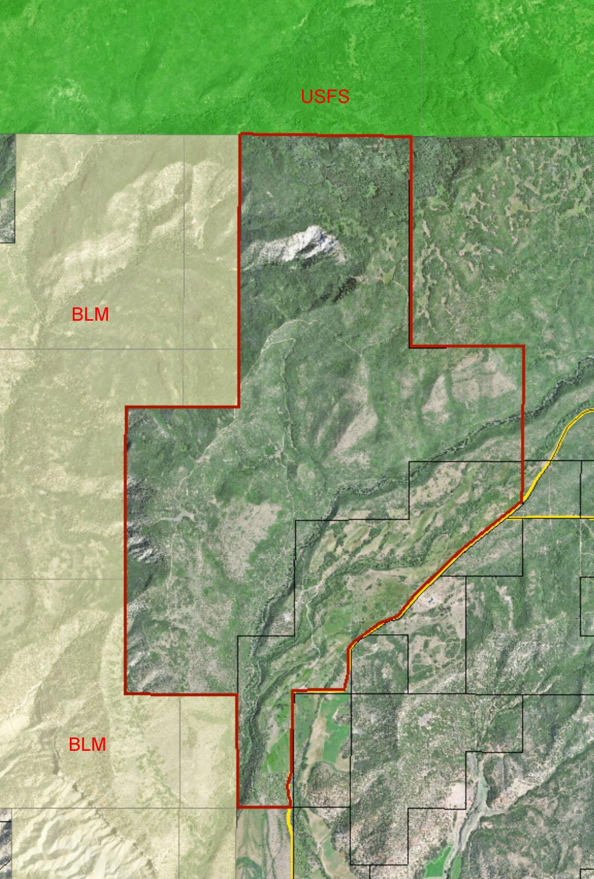1700 Acres In Delta County Colorado