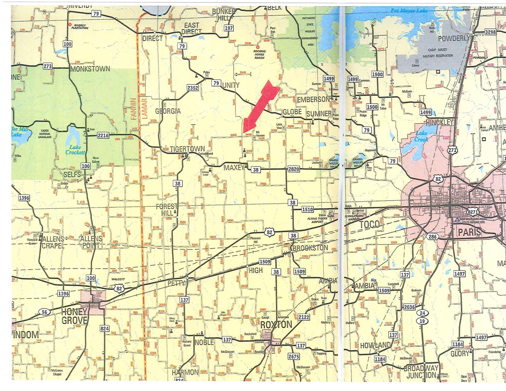 46 78 Acres In Lamar County Texas