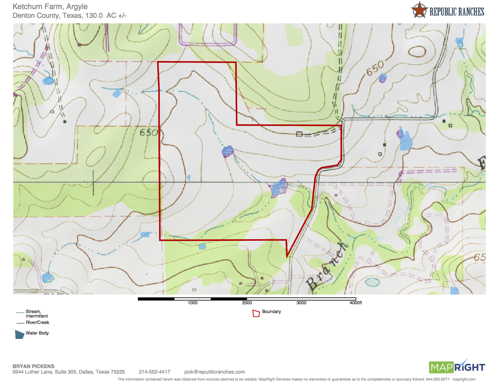 Argyle Development Property - 130 Acres