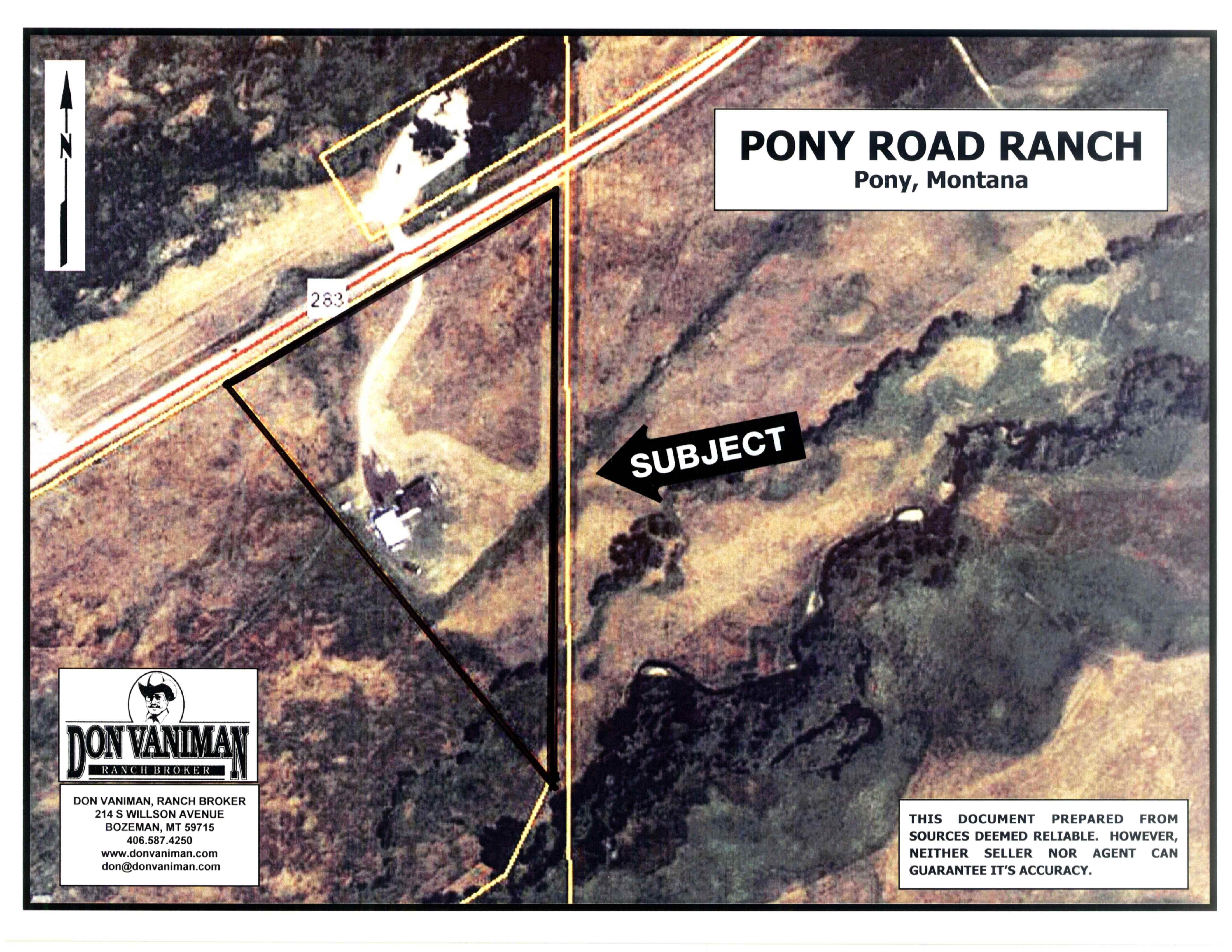 Pony Montana Map.Pony Road Ranch