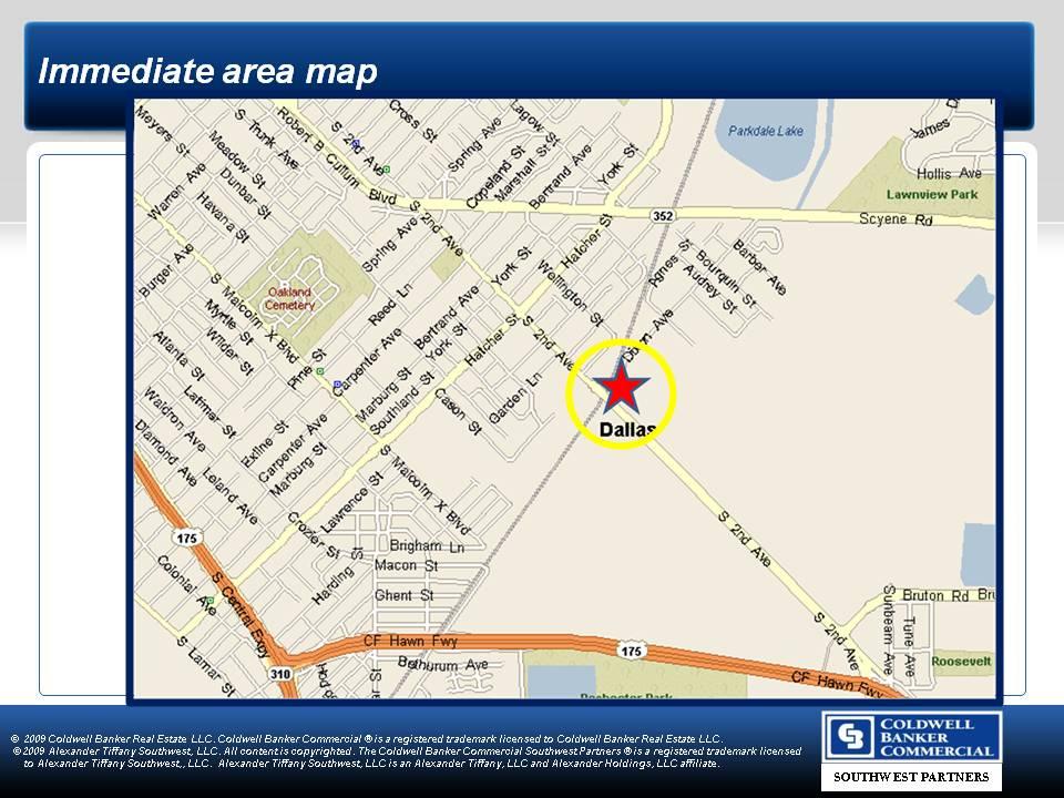 Greater Dallas Map.4 Acres In Dallas County Texas