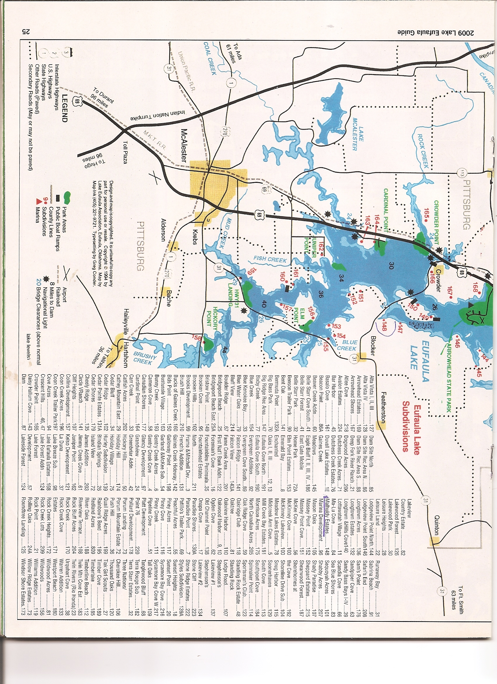 10 acres in pittsburg county oklahoma lake eufaula map1g publicscrutiny Images