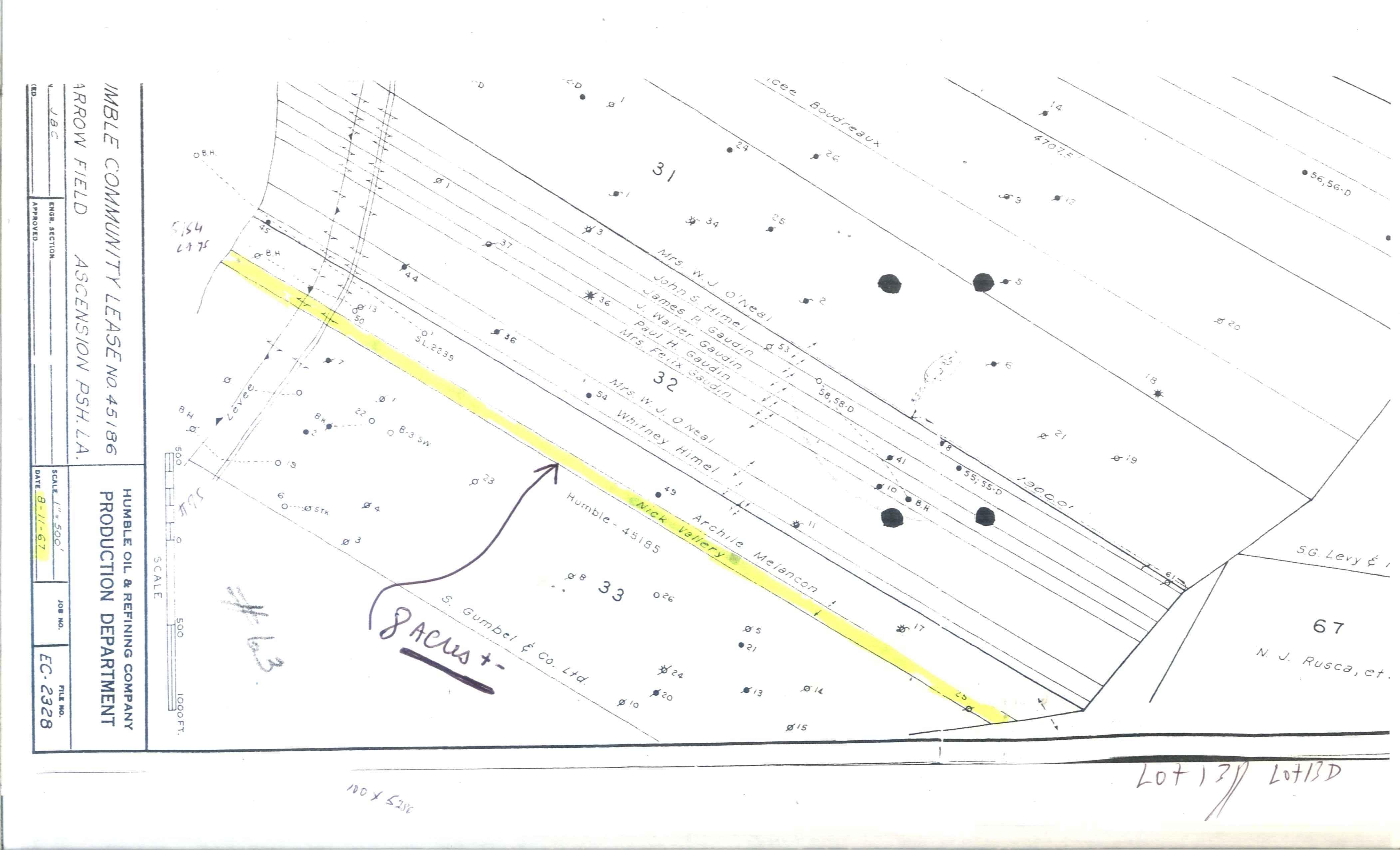 Darrow Louisiana Map.8 Acres In Ascension Parish Louisiana