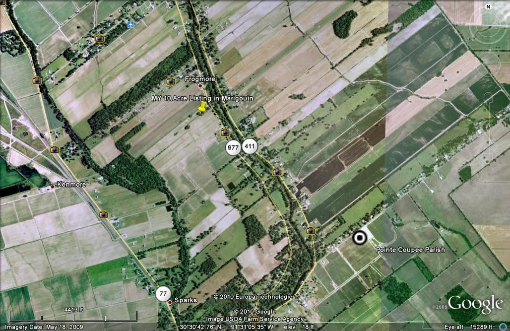 Pointe Coupee Parish Property Search
