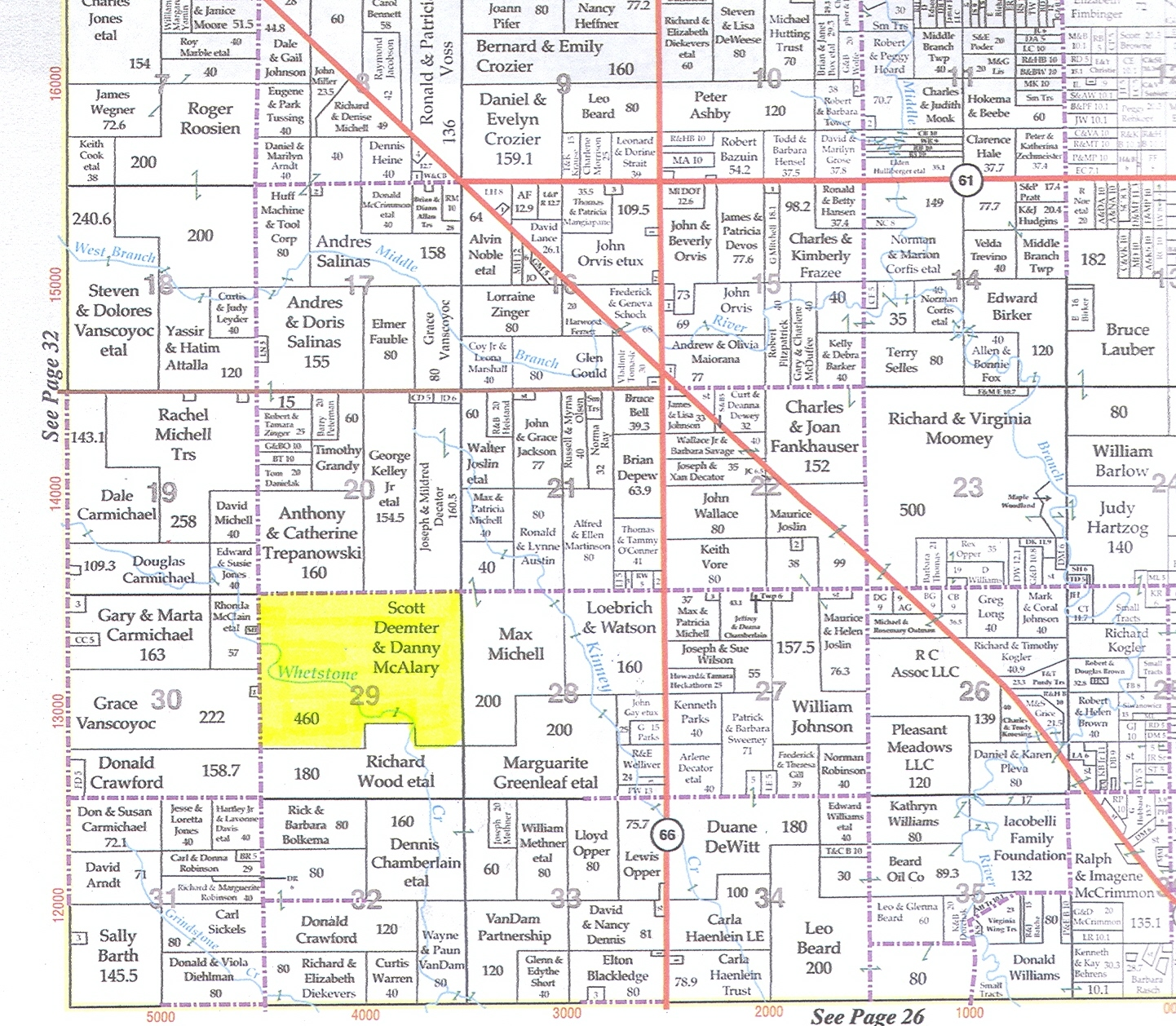 460 Acres In Osceola County Michigan