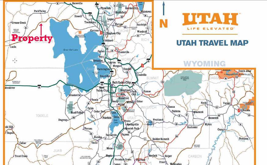 315 acres in Box Elder County, Utah