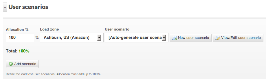 Expand user scenarios section