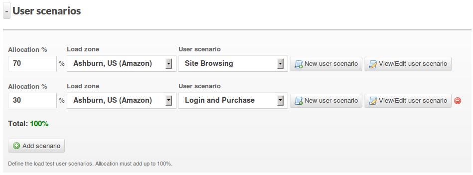Expand user scenarios section