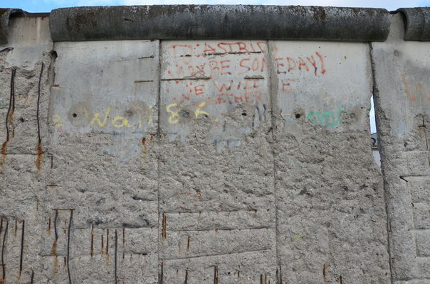 'To Astrid: Maybe Someday We Will Be Together'. Berlin wall. berlin, love, germany, romance, berlinwall, romantic. buy photo