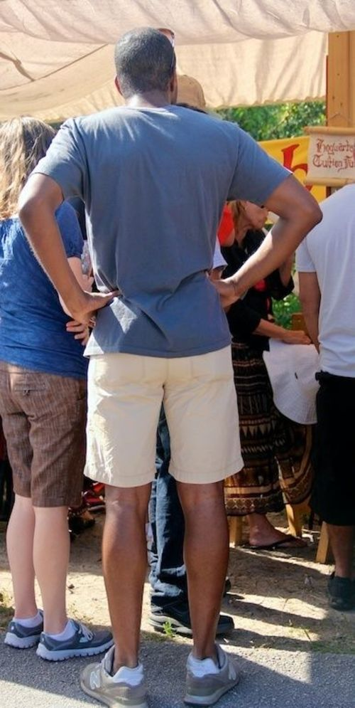 Hands on hips. people, hairy, man, male, men, guy, feet, festival, arms, legs, florida, masculine, manly, sox, crowd, guys, sneakers, dude, flipflops, males, blackpeople, shorts, backs, renaissancefestival, blackman, dudes, stud, studs, southflorida, rears, virile, sneakersocks, canonefs18135mmf3556is, ilobsterit. buy photo