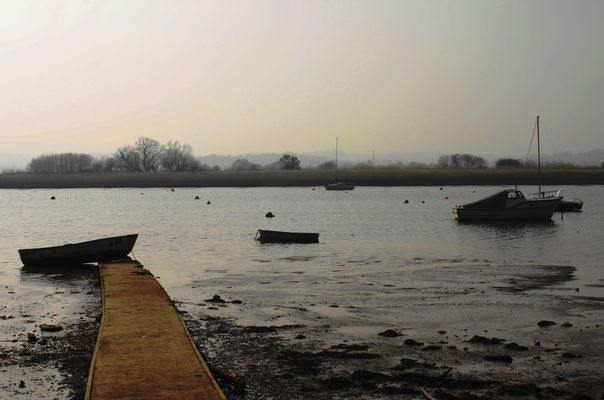 The Exe Estuary at Topsham. canon, eos, 10d, topsham12thmarch2014. buy photo