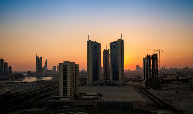 good morning manama. morning, sunrise, bahrain, manama, ilobsterit. buy photo