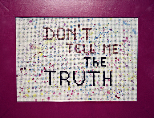 Don't tell me the truth. buy photo