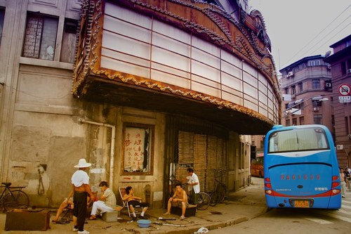 IMG_1226 Shanghai abandoned American Theater. china, history, shanghai, derelict, occupation, colonialism. buy photo