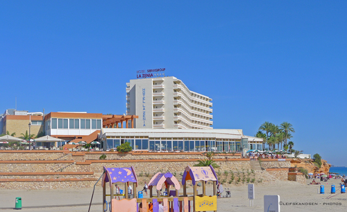 Hotel. camera, leica, travel, sea, vacation, house, building, sexy, beach, sunshine, hotel, living, spain, warm, europe, tourist, leifskandsen, skandsenimages. buy photo