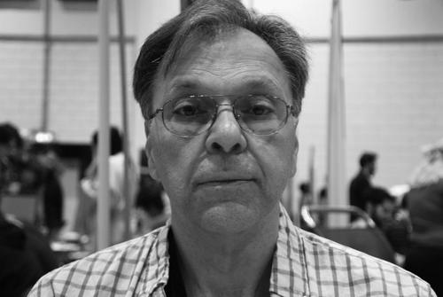 Howard Chaykin, London Super Comic Con, Excel, Docklands, 16th March 2014. artist, comic, american, writer, flagg. buy photo