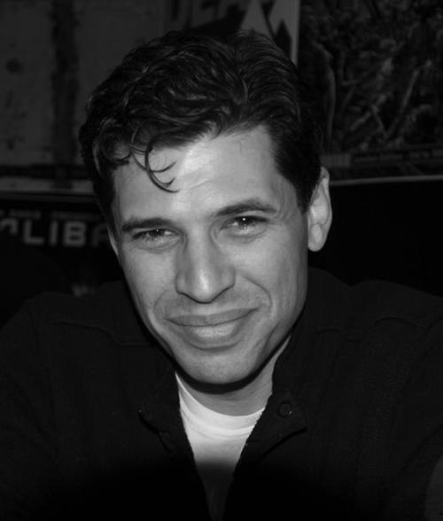 Max Brooks, London Super Comic Con, Excel, Docklands, 16th March 2014. portrait, horror, movies, writer, zombies. buy photo
