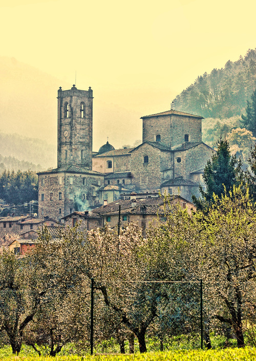 SPRINGTIME IN TUSCANY. buy photo