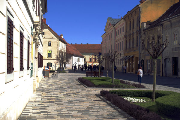 Varazdin. city, travel, sun, croatia, varaždin, ilobsterit. buy photo