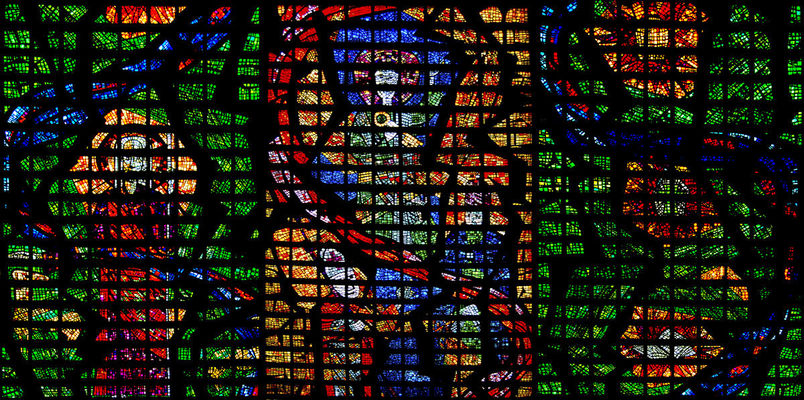 Stained glass of the Metropolitan Cathedral in Rio. city, brazil, urban, building, church, glass, brasil, riodejaneiro, architecture, catholic, cathedral, nikond70, religion, stained, metropolitan. buy photo
